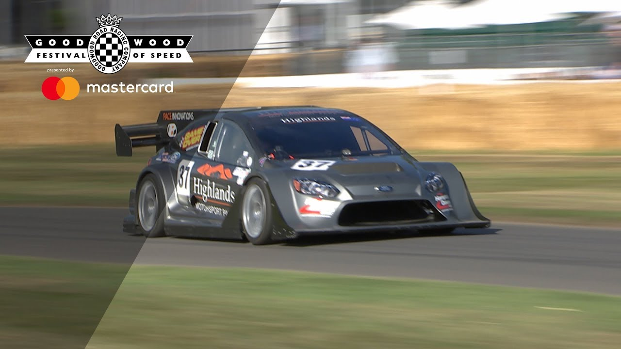 Incredible Pikes Peak Ford Focus Attacks Fos Hill