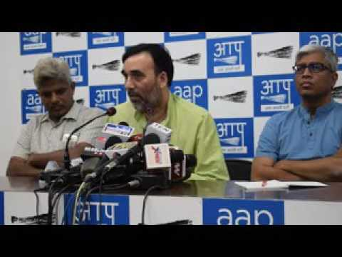 Kumar Vishwas is vital member of party: Gopal Rai,  AAP leader