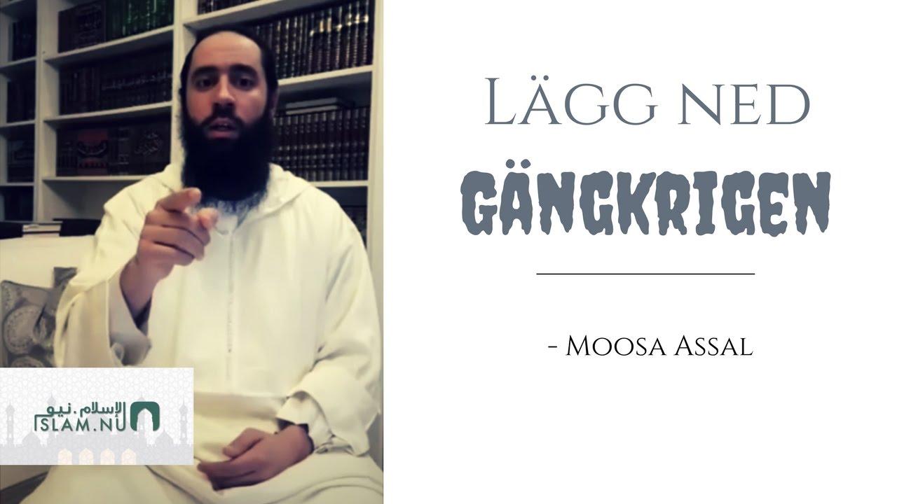 Lägg ned gängkrigen | Påminnelse med Moosa Assal