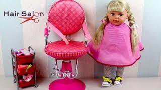 Baby Dolls Hair Salon Baby Born Sister Baby Annabell Nenuco Girls Play Hairdresser Toys