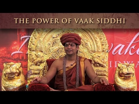 The Power of Vaak Siddhi: You Can Make Your Words Come True