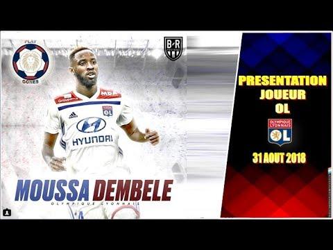 Maillot Olympique Lyonnais Moussa DEMBELE