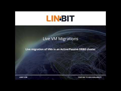 DRBD: Live Virtual Machine Migration Demo