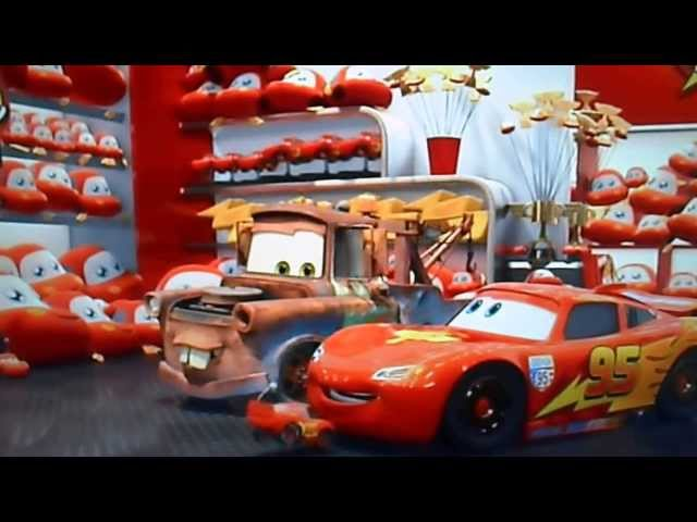 Cars 2 Rayo Macqueen y Mate Travel Video