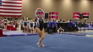 Samantha Medel Nationals Floor 2016