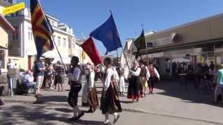 Folk dance - SamStämt i Pargas, Finland, Folkdansparad 08.06.2013