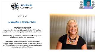 Tenfold CXO Pod with Meredith Hellicar - 11 August 2020