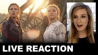 Black Widow New Trailer REACTION