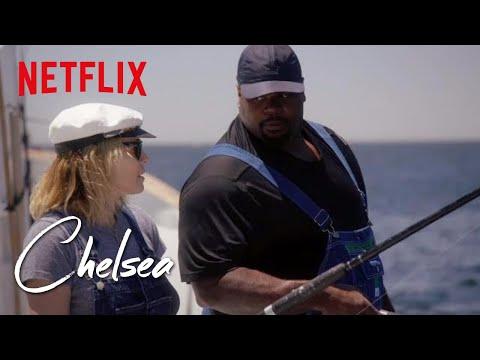 Vince Wilfork Takes Chelsea Deep Sea Fishing | Chelsea | Netflix