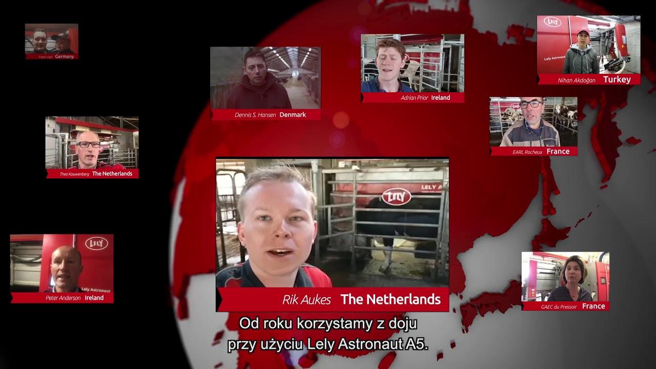 Lely Astronaut A5 – doświadczenie po jednym roku użytkowania – video 6 (PL)