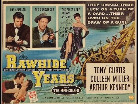 The Rawhide Years 1955 Tony Curtis Western Movie