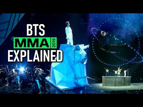 BTS MMA 2019 performance EXPLAINED + THEORIES