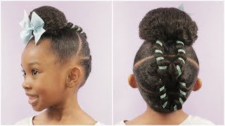 Hiiii Friends In this video I show you show to do a cute hairstyle ...