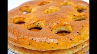 خبز بدون دلك خاص بالشربة وريحتو تعبق ساهل بزاف