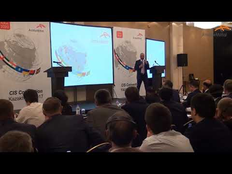 Paramjit Kahlon - CEO ArcelorMittal CIS - CIS Convention July 6 7, 2017 Astana Kazakhstan part 3