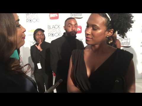 OITNB's Vicky Jeudy gives advice at Black Girls Rock 2015