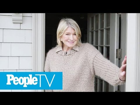 Martha Stewart Gives A Tour Of Her Dream Kitchen In Her Winter Home | PeopleTV Mp3
