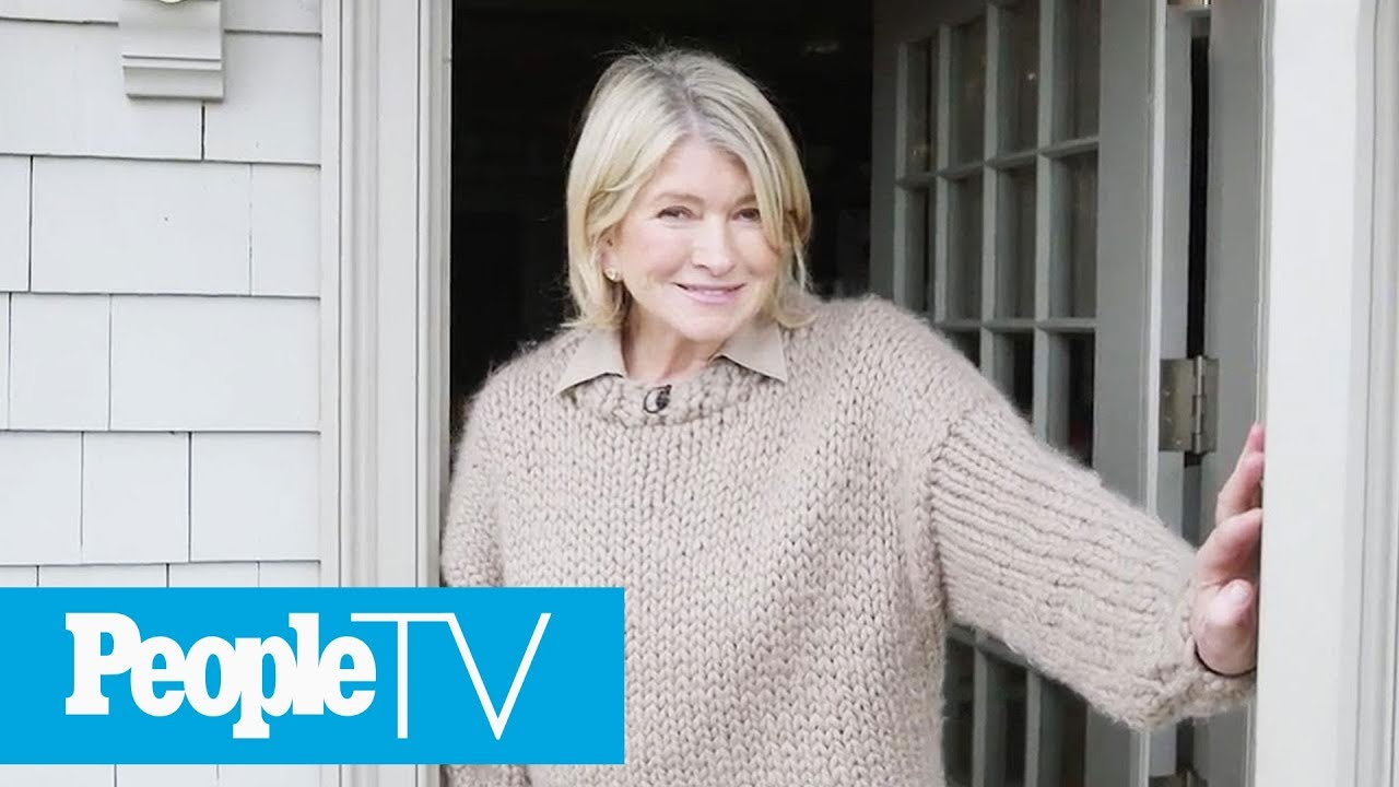 fc4768bea5 Martha Stewart Gives A Tour Of Her Dream Kitchen In Her Winter Home ...