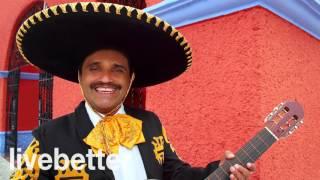 Música instrumental mexicana tradicional ranchera con mariachi con trompeta y guitarra