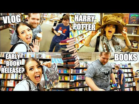 SHOPPING FOR BOOKS | BARNES & NOBLE BOOK STORE VLOG | EARLY BOOK RELEASE FAIL