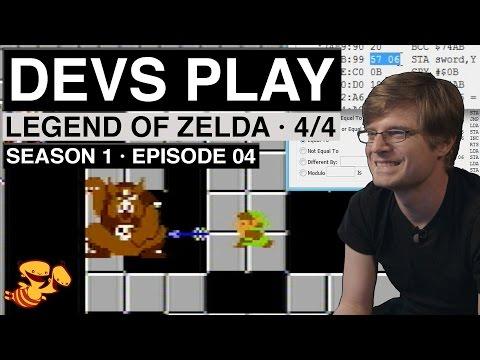 """Devs Play"" S01E04 - Legend of Zelda (Part 4 - Hacking the ROM)"