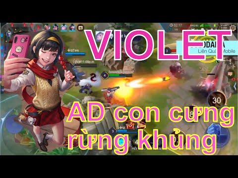 Violet rừng | AD cục cưng phó học tập | Bắn siêu chí mạng | SOLODAICA | Liên Quân Mobile vui vẻ
