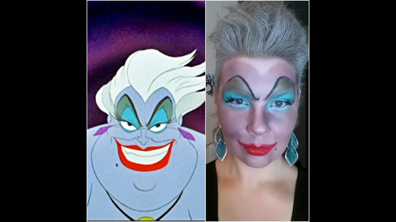 Ursula hair makeup tutorial youtube solutioingenieria Images
