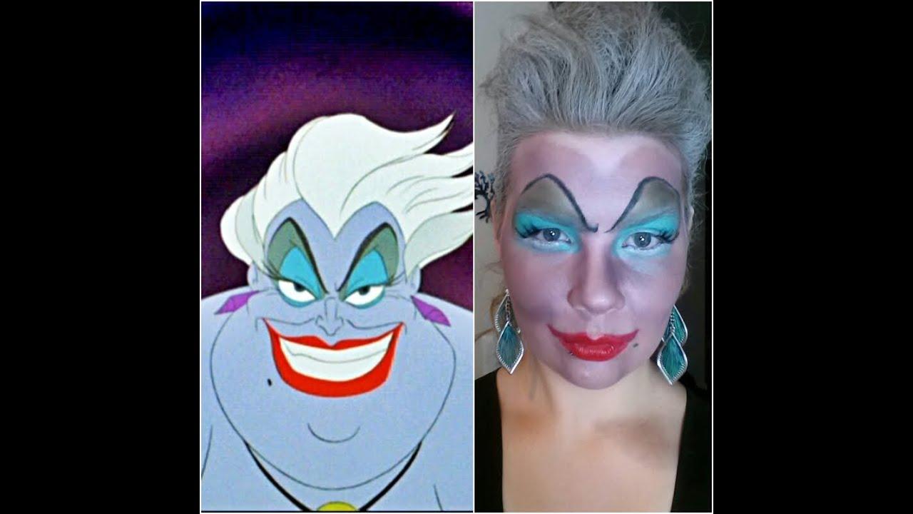 Ursula hair makeup tutorial youtube solutioingenieria Image collections