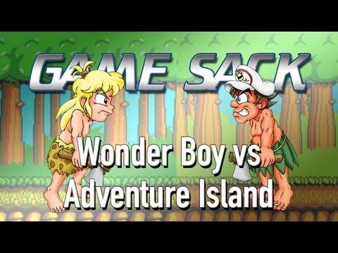 Game Sack - Wonder Boy vs Adventure Island - Review