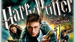 Harry Potter and the Order of the Phoenix Walkthrough Part 1 (PS3, X360, Wii, PS2, PC) No Commentary