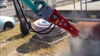 Robustrack Hydraulic Breaker