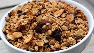 Granola   Crunchy Nutty Baked And Delicious