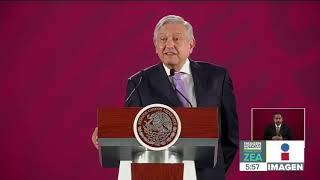 No hay recesión en economía, vamos muy bien: AMLO | Noticias con Francisco Zea
