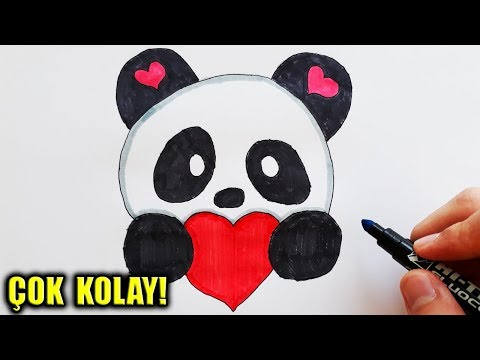 Sevimli Panda Cizimi Kawaii Panda How To Draw A Cute Panda