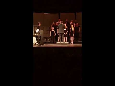 Canal Winchester High School Ensemble Performing Fix You by Coldplay