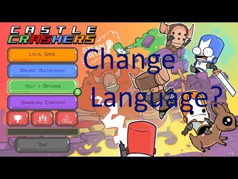 Castle Crashers How To Change Language