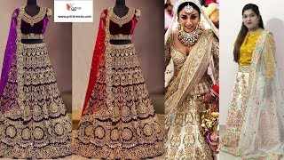 Designer Bridal Lehanga Choli Collections ll Online Shop ll 14 Sep 2018