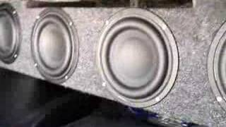 "Tang Band 6.5"" subs workin it...Part 2"