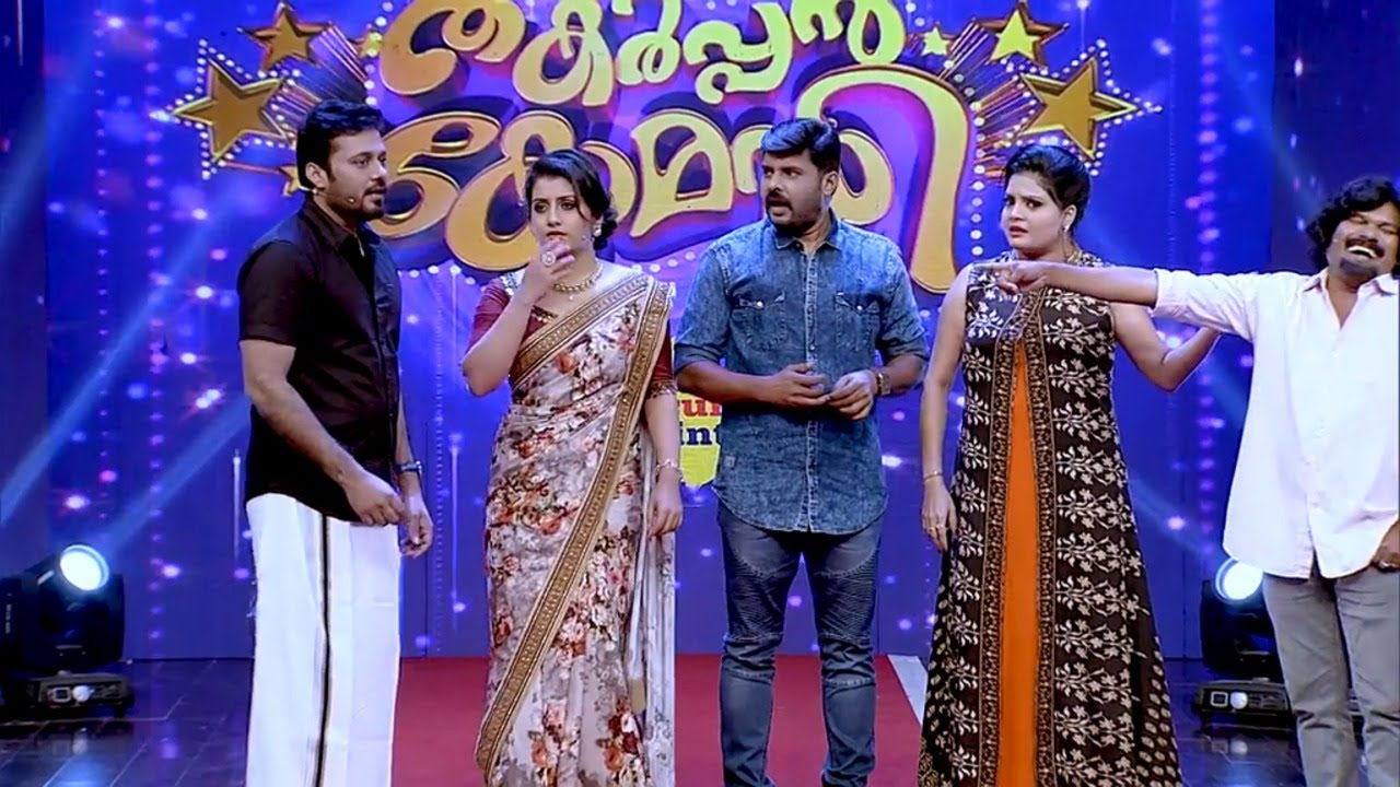 #ThakarppanComedy I Subi Suresh & Kalabhavan Navas on the floor!!! I Mazhavil Manorama