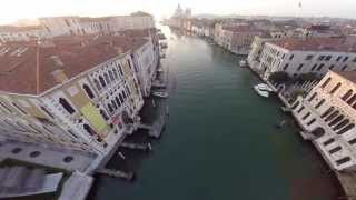 Venice Grand Canal by Drone - amazing birds eye view