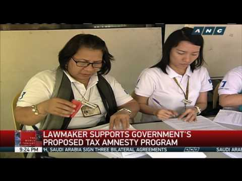Lawmakers support proposed tax amnesty program