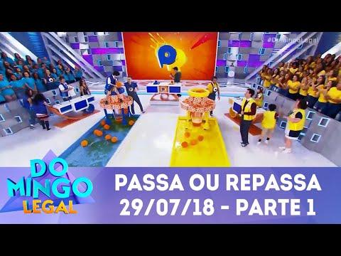 Passa ou Repassa - Parte 1    Domingo Legal (29/07/18)