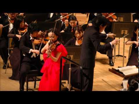 Teiko Maehashi Plays Brahms Violin Concerto 1st Movement