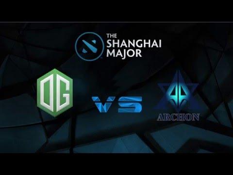 The Shanghai Major, OG vs Archon Highlights