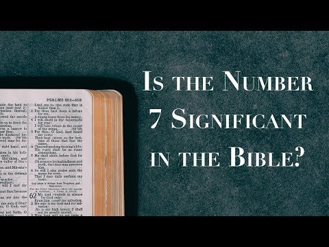 What does 7 times mean in the bible
