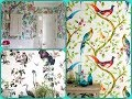 Birds On Walls – Interior Design Trend 2018. Wallpapers, Prints, Murals And Ideas For DIY