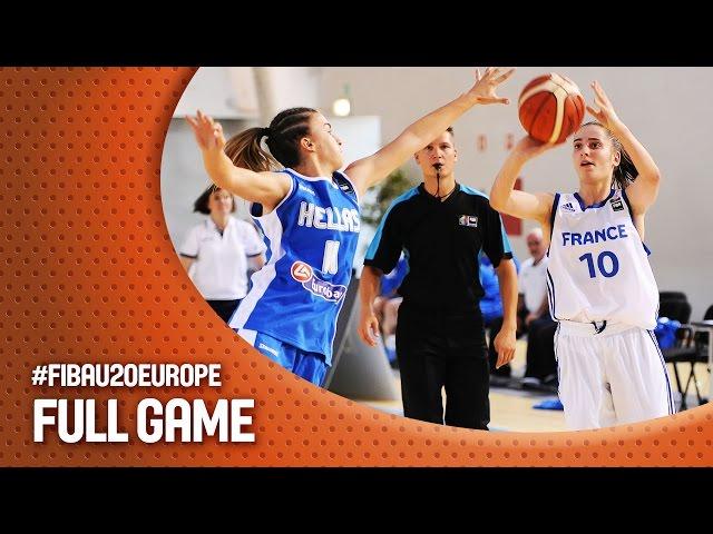 EOK | Live (20:30, 09.07.2016) ο αγώνας ΕΛΛΑΔΑ - Γαλλία  (Ευρωπαϊκό Πρωτάθλημα Νέων Γυναικών - Ματοσίνιος, Πορτογαλία)
