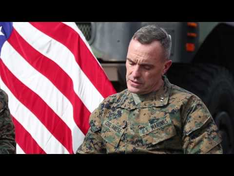 What does a Marine General look for in his leaders?
