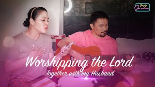 Worshipping the Lord with my Husband
