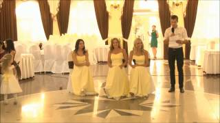 Видео со свадьбы. Сценка